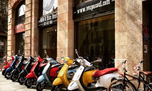 Alquiler de motos en Barcelona